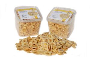 1Kg Bananenchips, leicht mit Honig gesüßt