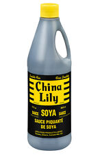 CHINA LILY SOYA SAUCE - Lee's Food Soy Sauce - Two 17 fl oz (483 ml) bottles