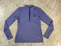 Women's Under Amour Heat Gear TPC San Antonio Golf Half Zip Pullover Size Medium