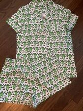 New!!!  Roller Rabbit Pajamas Monkey Size Small