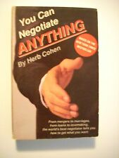 You Can Negotiate Anything Herb Cohen 2 Cassette Tapes Business Marriage Power
