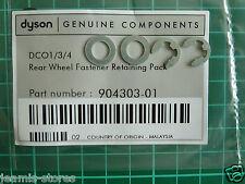 Dyson DC01, DC04, DC07, DC14 rear wheel retaining clip Kit  GENUINE