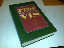 DICTIONNAIRE HACHETTE DU VIN (MICHEL DOVAZ) 1999 LIVRE
