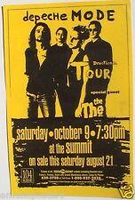 """Depeche Mode 1993 """"Devotion Tour"""" Houston Concert Poster - New Wave Music"""