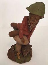 "Tom Clark Gnome - ""Kevin and Cora"" - 1991 - Rat Figurine - COA"