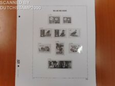 Used DAVO album pages - Belgium - 2008 (20 pages)
