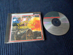 CD Fireworks For Orchestra BOSE Monitor PC in-akustik PURE DIGITAL Test CD SION