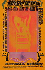 MINT Mother Earth 1967 FIRST Vancouver Retinal Circus RC 1 Handbill