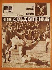 Miroir-Sprint N° 1017 du 25/1/1965- Rugby,Guy Boniface admirable devant,Roumains