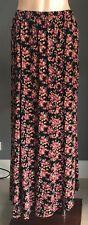 """Gorgeous DON""""T ASK AMANDA Multi Colour Floral Print Maxi Skirt Size S/8"""