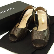 CHANEL Sandals / Ladies Authentic Used M954