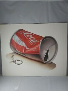 "Vintage 1960 Coca-Cola Can Art/Print, Don't Litter Advertising, No Frame 20""x16"""