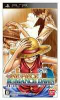 UsedGame PSP One Piece ROMANCE DAWN bouken no yoake from Japan