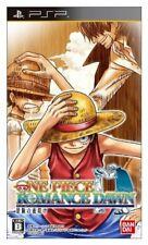 USED PSP One Piece ROMANCE DAWN bouken no yoake Game soft
