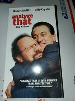 Analyze That (VHS, CC) Robert DeNiro, Billy Crystal
