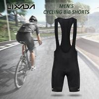 Lixada Men Cycling Bib Shorts Quick Dry Mesh 3D Padded Bicycle Shorts X4U3