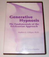 Generative Hypnosis: Stephen G. Gilligan, Ph.D. 3 CD Audio Book.