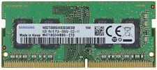 New Samsung 4GB DDR4 PC4-21300 2666MHz 260pin SODIMM Memory RAM PC4-2666V-SC0-11