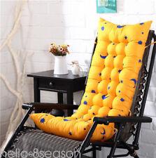 AU Deck Chair Cushion Thick Outdoor Patio Backyard Garden Lounge Seat Padding