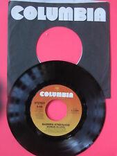 BARBRA STREISAND Woman In Love / Run Wild 45 vinyl sleeve Columbia