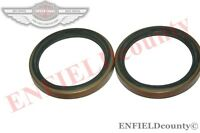 BRAND NEW JCB 3CX EXCAVATOR FRONT HUB SEAL PAIR 2 UNITS