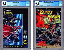 SPAWN-BATMAN #NN + BATMAN-SPAWN WAR DEVIL #NN CGC 9.8-9.8 TODD MCFARLANE 1994