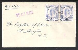 TONGA / TOGA 1939 AIR MAIL TO NEW ZEALAND (U)