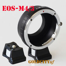 Canon EOS EF Lens to Micro4/3 M43 EP1 G1 GH1 GF1 Adapter EOS-M4/3 With Tripod