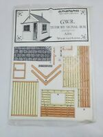 Alphagraphix GWR Tetbury Signal Box A104 1/43 Scale Model Kit *NEW*