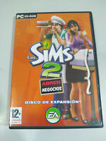 Los Sims 2 Abren Business CD de Expansion EA Spanisch Set Für PC Cd-Rom