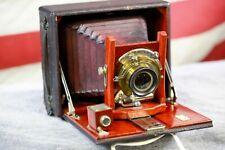 Kodak Plate Camera with Baush & Lomb Rapid Rectilinear Lens Pat. Jany. 5. 1897