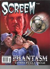 Screem #32 The Thing Phantasm Exorcist III Pan's Labyrinth Klaus Kinski 2016