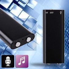 Mini 150Hr USB 8GB Digital ESPÍA oculta Audio Grabadora De Voz Dictáfono MP3