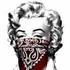 Mr Brainwash STAY SAFE RED xx/50 Marilyn Monroe MBW poster