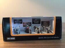 Mth Harley Davidson 1/43 Scale Die Cast Motorcycles 30-11077