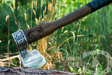 Battle Axe Hand Forged Viking Axe Custom Engraving Ancient Medieval best gift