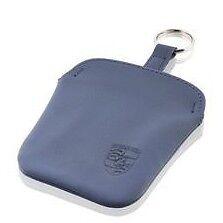 NUOVO Originale Porsche Classic Navy Blue wallet Custodia Chiave 911 964 993 996 997 986