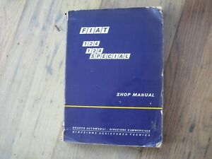 Fiat,124/Special, Factory, Workshop, Manual/ Catalogue/Handbook/131/127/126/1438
