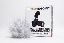 Rode Stero Videomic Pro + Rode Windscreen (Deadcat)