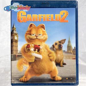 Garfield 2 Blu-ray Reg. A  English & Latin Spanish Language
