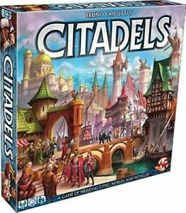 Citadels Deluxe 2016 Edition - Card Game - NEW - OFFICAL