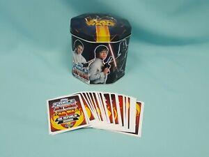 Topps Force Attax Movie Serie 3 Tin Box Sammeldose + 50 Basiskarten
