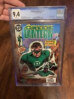 GREEN LANTERN #1, CGC 9.4, NM, Batman, White Pages, 1990, more in store