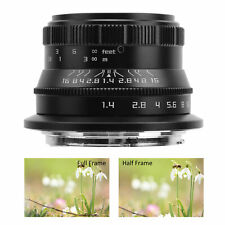 35mm F1.4 RF Mount Full Frame Fixed Focus Manual Lens for Canon EOS R/RP/R5/R6