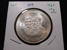 N19 Mexico 1960 Silver Dos Carritos 10 Pesos UNC