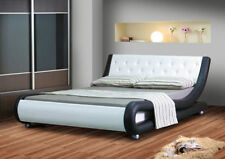 Solid Wood Contemporary Memory Foam Beds with Mattresses