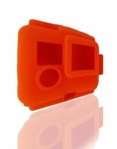 XSories Silicone Cover Case for GoPro Hero, Hero 3, 3+ and Hero 4 - Orange