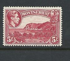 Mint Hinged Single Montserrat Stamps