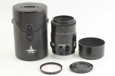 【Exce 5】 MINOLTA AF MACRO 100mm F2.8 Lens Sony Minolta A Mount From JAPAN  #184