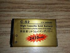 2430mAh High capacity battery for Blackberry Curve 8300 8330 8520 9300 9330